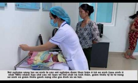 Sàng lọc sơ sinh tại Bệnh viện